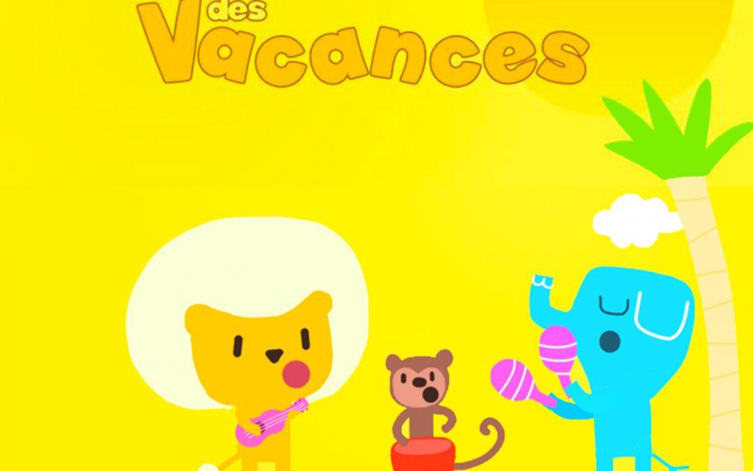Nouvel album, Les Comptines des Vacances